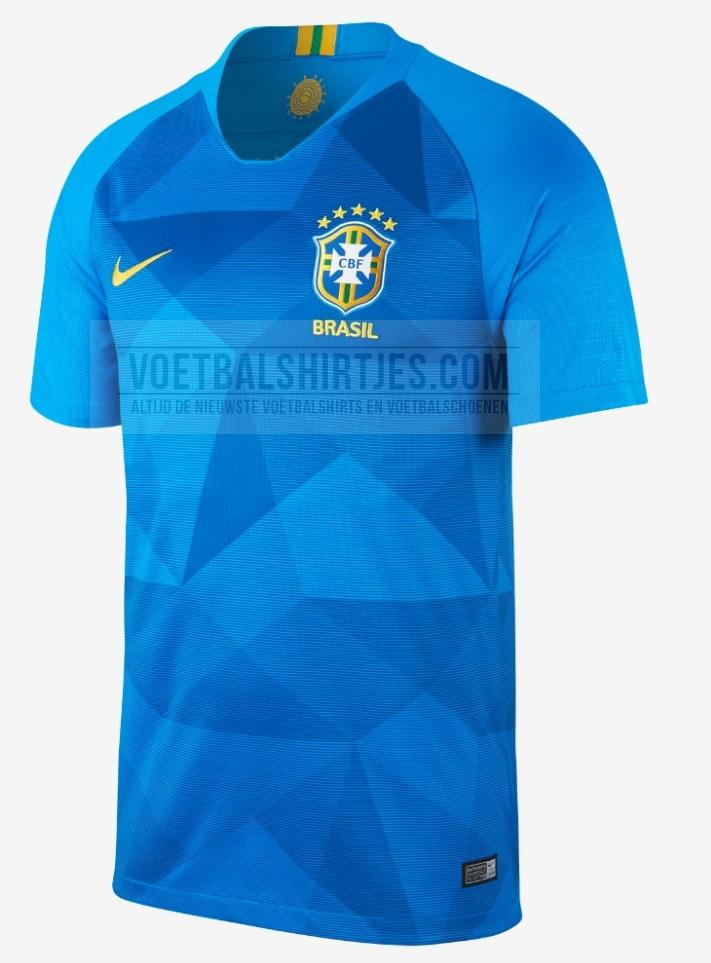 Brazilië uitshirt 2018