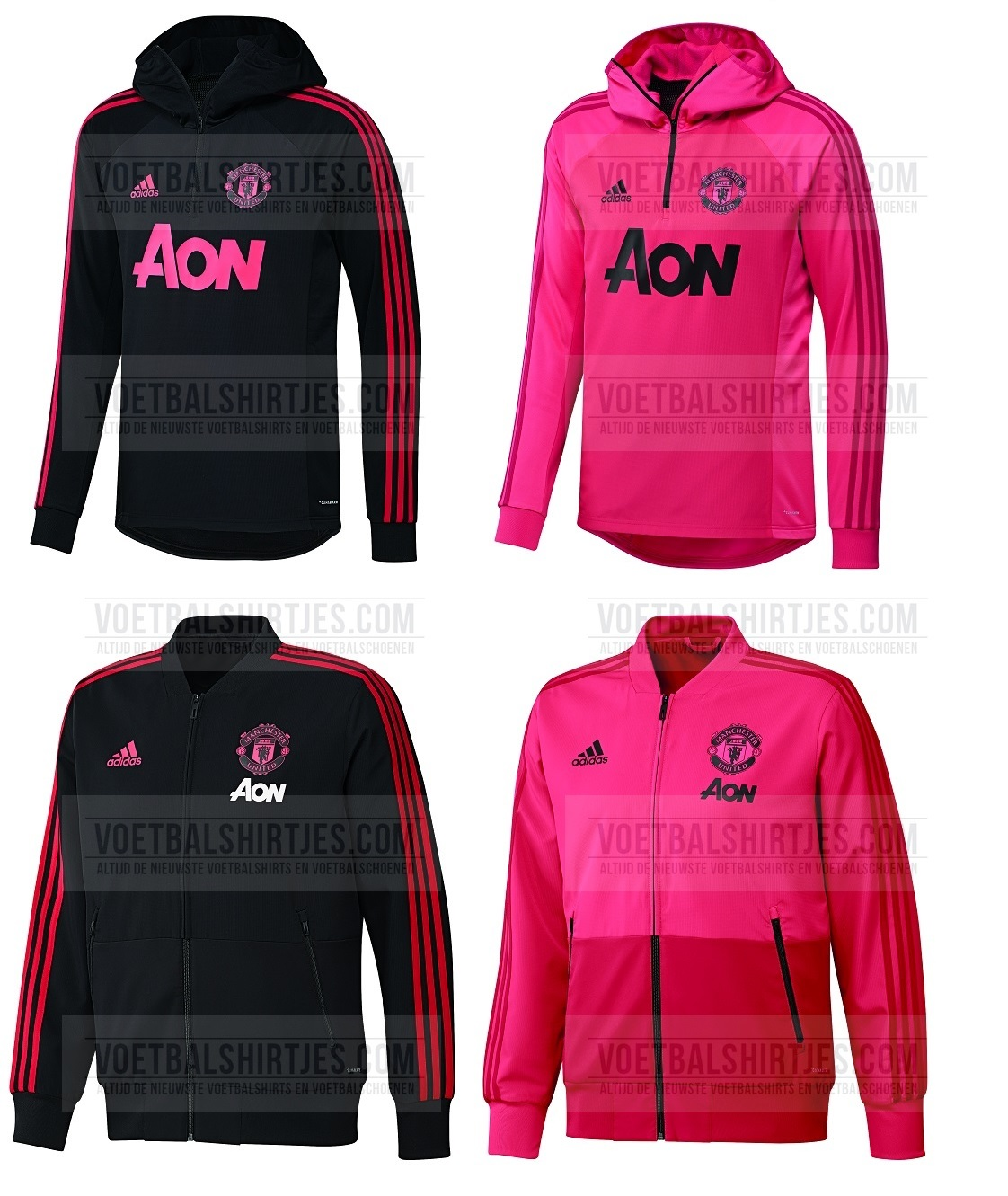 Manchester United 2018-2019 training top