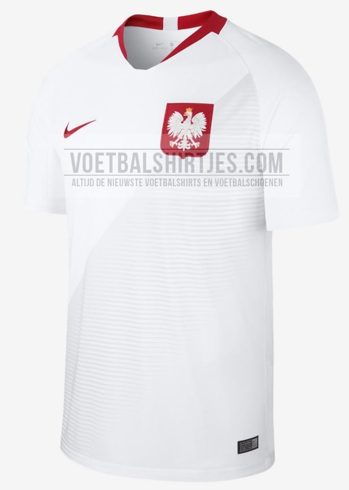 Polen thuisshirt 2018