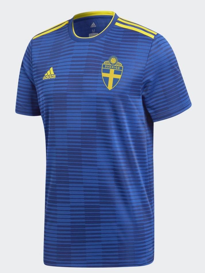 Sweden away jersey 2018