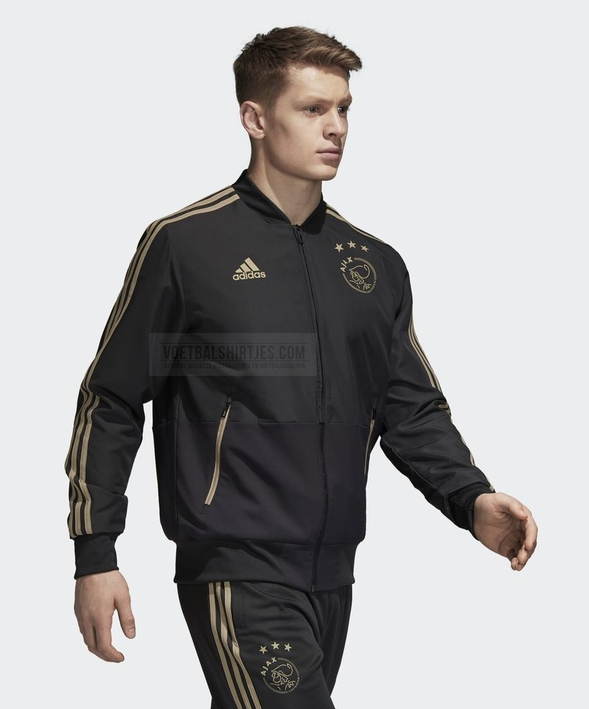 ajax trainingspak zwart 18-19