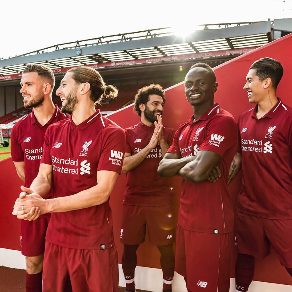Liverpool shirt 2019