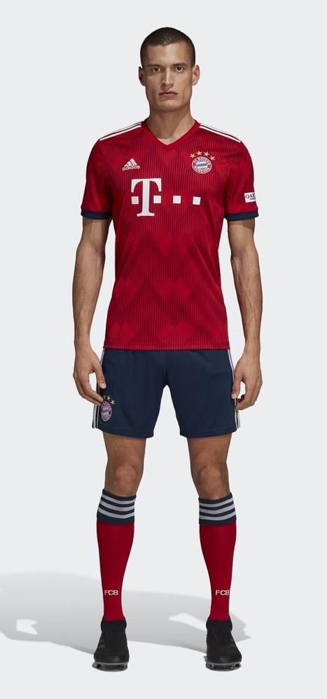 Bayern Munchen tenue 18-19
