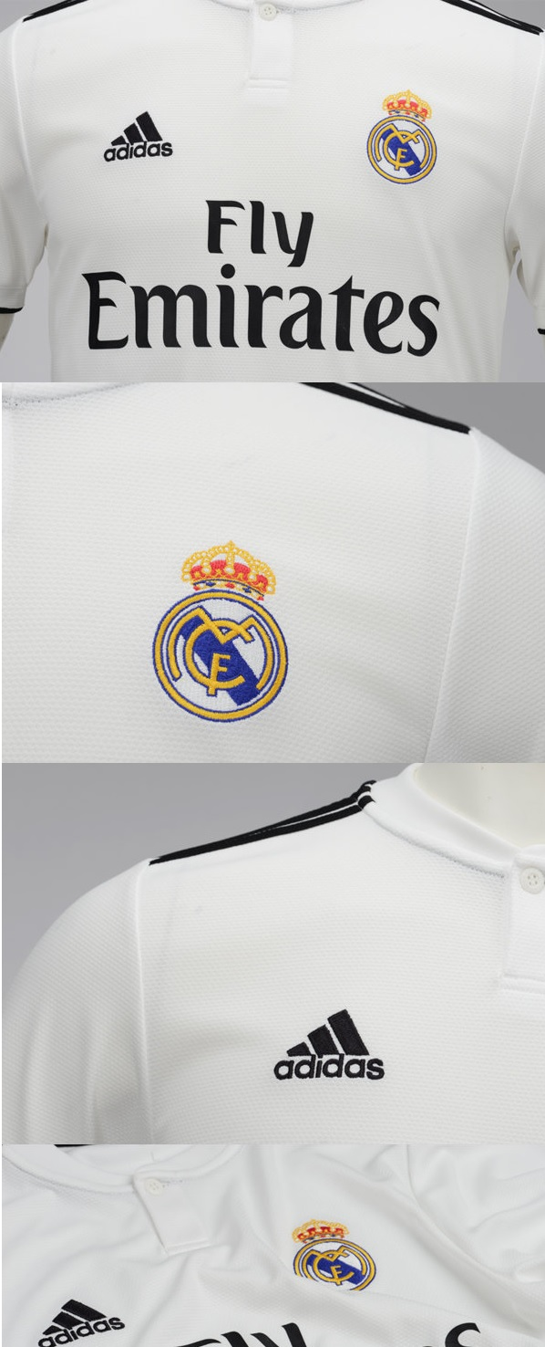 real madrid shirt 18-19