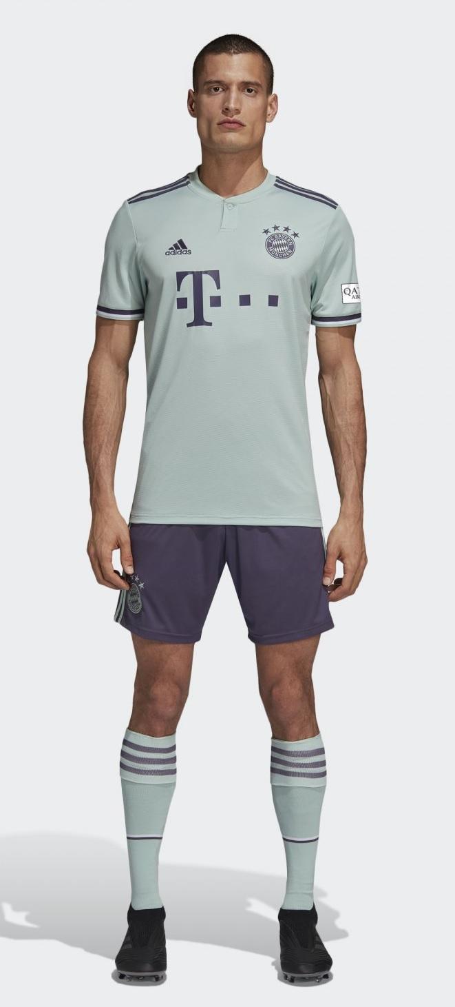 Bayern munchen uit tenue 2018