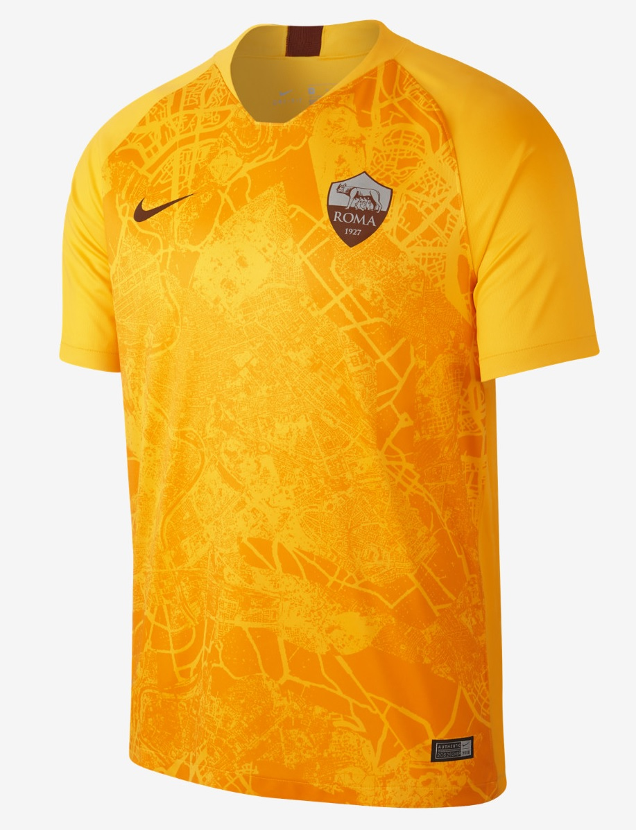 AS Roma third kit 2018