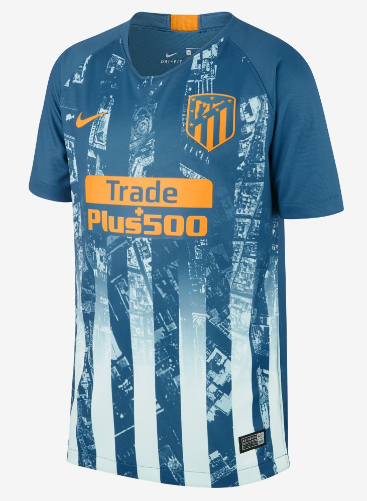 Atletico Madrid Champions League uitshirt 2018