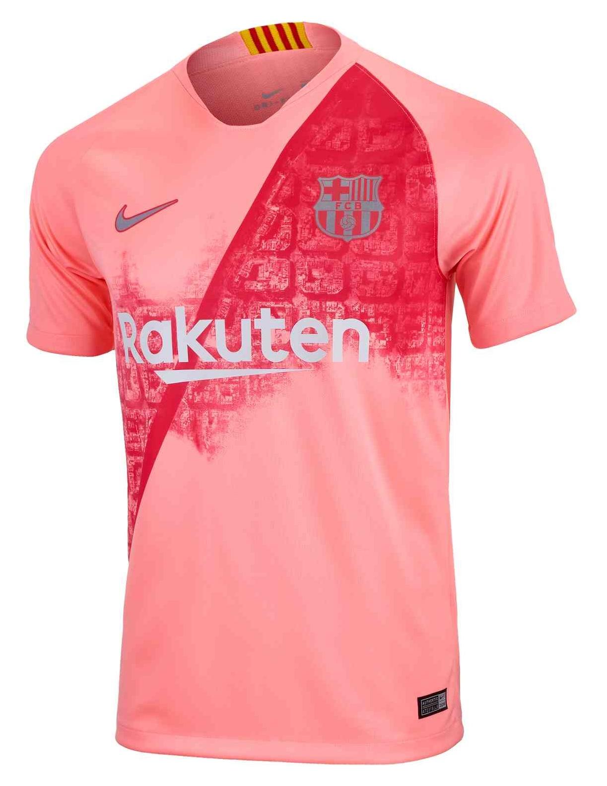 FC Barcelona third kit 2018
