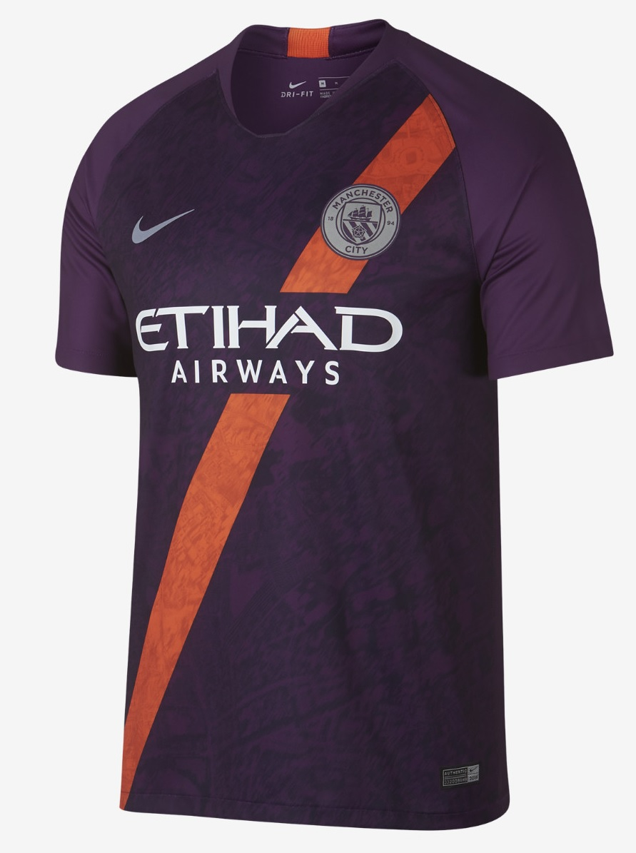 Manchester City third kit 2018